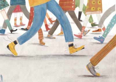 Il bambino con le scarpe rotte